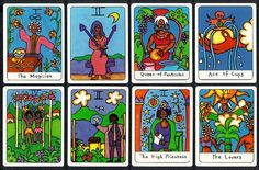 African American Tarot | Found on astroamerica.com