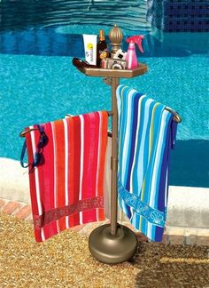 Pool Towel Racks - Easy Home Concepts