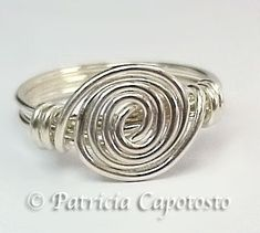 Single Spiral Ring | PatriciaCapotosto - Jewelry on ArtFire