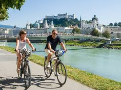 Summer in Salzburg: 5 Things You Must Do Cycling Holiday, Hotels, World Cities, Group Tours, Sound Of Music, Park, Old World, Travel Style, Austria