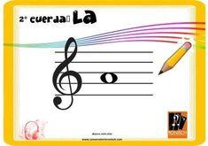 2° Cuerda al aire (violín) - LA Musical, Symbols, Letters, Major Scale, Twine, Patterns, Letter, Lettering, Glyphs
