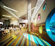*버블버블 유치원 [ LosdelDesierto Architecture ] Kindergarten in Velez-Rubio :: 5osA: [오사]