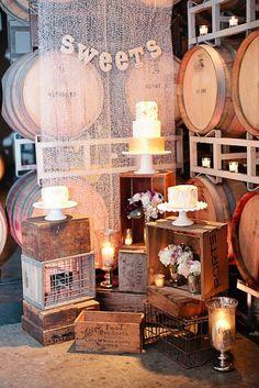 QUIERO UNA BODA PERFECTA: Las cajas de madera son la nueva sensación para bodas