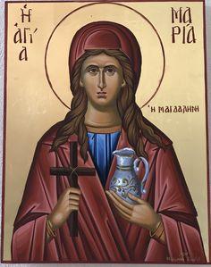 St. Mary Magdalene.  Feast:  July 22. Mary Magdalene, Saints, Greek, Wonder Woman, Princess Zelda, Superhero, Female, Fictional Characters, Women
