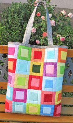 Patchwork Quilt Patterns, Crazy Patchwork, Patchwork Bags, Quilted Bag, Seminole Patchwork, Patchwork Designs, Quilt Studio, Origami Bag, Fabric Origami