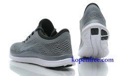 Goedkoop Schoenen Nike Free 3.0 V5 Heren (kleur:vamp&logo-grijs;binnen-zwart;zool-wit) Online Winkel.