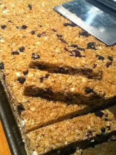 frugalgourmetmom: Chewy Granola Bars