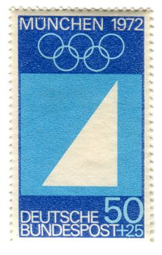 Munich 1972, Olympic sailing commemorative stamp