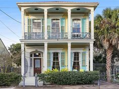 2613 Royal St, New Orleans, LA 70117 | MLS #2277400 | Zillow Double Glass Doors, Heart Pine Flooring, Ceiling Windows, Real Estate Companies, Victorian Homes, Custom Homes, New Orleans, Luxury Homes, Beautiful Homes