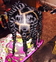 Lil Girl Hairstyles, Girls Natural Hairstyles, Natural Hairstyles For Kids, Princess Hairstyles, Little Girl Braids, Black Girl Braids, Braids For Kids, African American Kids Hairstyles, Curly Hair Styles