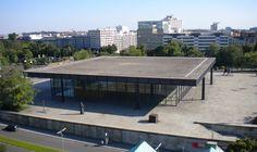 Neue Nationalgalerie [ New National Gallery ] 1968|Mies van der Rohe
