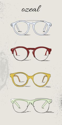 four star vintage eyeglasses in ozeal #eyeglasses #eyewear http://www.ozealglasses.com/designer-glasses-ospirit
