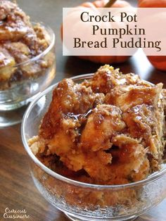 Wake up to the smell of warm pumpkin pie, and indulge in this healthy fall bread pudding for breakfast!   www.curiouscuisiniere.com