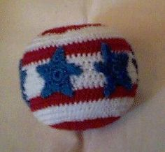 Image of Stars & Stripes Hacky Sac
