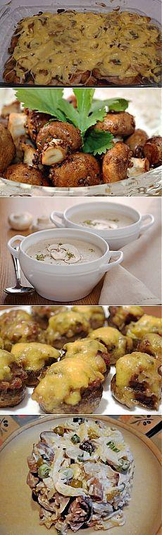 Готовим разную вкуснятину из грибов