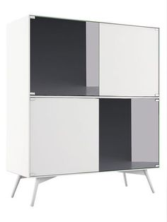 Christopher Highboard Cabinet by Modloft at Gilt