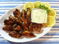 Time for another chicken wings Monday! This week my flavour is Greek inspired. Lemon, garlic and oregano. The oregano is growing like crazy in my little urban garden and I'm so thrilled to use it. …