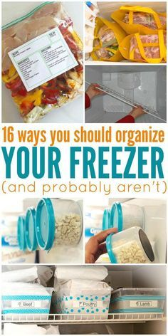 Cleaning out the fridge? Maybe I'd have much more room in my freezer if I tried these DIY organization tricks.