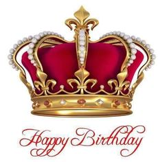 Happy Birthday King, Happy Birthday Images, King And Queen Crowns, Crown Art, Queens Wallpaper, Album Cover Design, Glo Up, Kings Crown, Crown Royal
