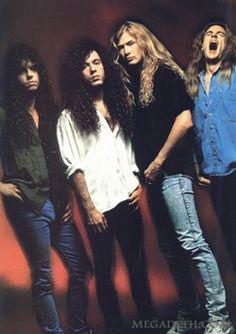 ~Amazing Megadeth Line Up~