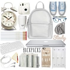 9573d13e3a1 A fashion look from August 2016 featuring New Look backpacks