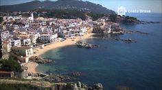 """Costa Brava from the air"" - beautiful HD VIDEO- starts near the French border and Cadaquès, ending up in Blanes. Catalonia."