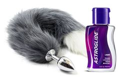 Fox tail butt plug - ready for hunt?