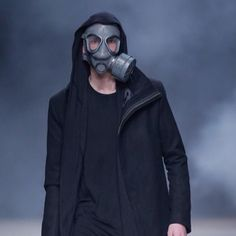 D A R K F A L L___ Presenting the #armyofme Fall/Winter runway show... Review on the blog. #unconventional #avantgarde #monochrome #conceptual #contemporary #menswear #mensfashion #darkwear