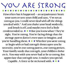 Little Notes for Your Kids to Find All Through the Day - Single Parent Quotes - Ideas of Single Parent Quotes - Image Detail for Being a Single Parent: A Challenge Single Parent Quotes, Single Parenting, Autism Parenting, Foster Parenting, Divorce, Special Needs Mom, Special Kids, Special People, You Are Strong