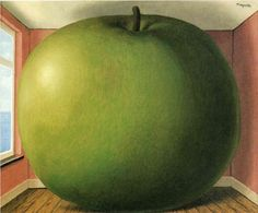 rene-magritte/the-listening-room-1952    60 years ago, Rene anticipated APPLE becoming the biggest Corp ever ... ;-) whatta Genius!