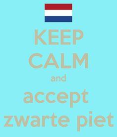 Keep Calm...........Zwarte Piet