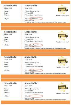 85 best raffle ticket templates ideas images on pinterest raffle
