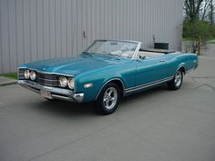 1968 Mercury MONTEGO MX CONVERTIBLE - Ultra Automotive in Milford, OH