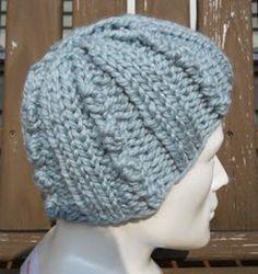 Ice Crystal Hat | AllFreeKnitting.com