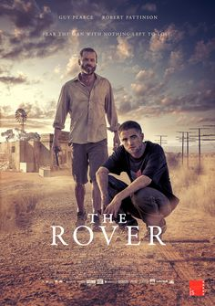 Robert Pattinson - 'The Rover' poster