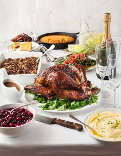 An easy but impressive Thanksgiving or Christmas menu made from scratch! Amaze your family and friends!