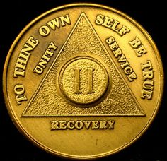 Alcoholics Anonymous Token II Months AA Token RARE Token Congressional Gold Medal, Alcoholics Anonymous, African American Girl, Unity, Recovery, Sobriety, Personalized Items, Rocks, Ebay