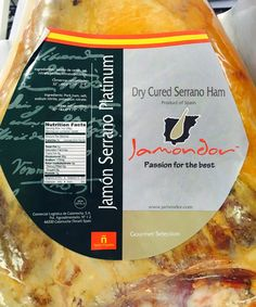 The Wine and Cheese Place: Serrano Jamon recipe with Bourbon Barrel Aged Maple syrup
