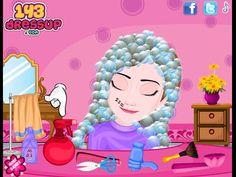 Frozen Lazy Anna Haircut - Frozen Dress-up Games
