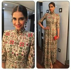Sonam Kapoor in this great dress!!!! I want this dress.