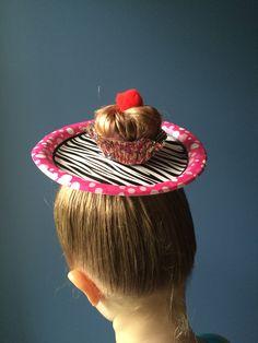 Crazy hair day cupcake!