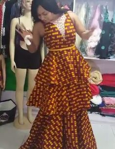 Are you a fashion designer looking for professional tailors to work with? Gazzy Consults is here to fill that void and save you the stress. We deliver both local and foreign tailors across Nigeria. Call or whatsapp 08144088142 Latest African Fashion Dresses, African Print Dresses, African Print Fashion, African Dress, African Attire, African Wear, African Women, African Traditional Dresses, Fashion Line