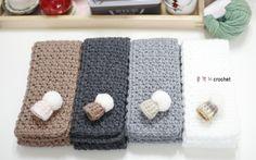 코바늘로 뜬 미니 목도리예요.잠박 한 볼로 뚝딱~대바늘에 비해 속도가 어마어마하게 빠릅니다.그 매력에 ... Shawl, Knit Crochet, Diy And Crafts, Crochet Patterns, Towel, Dolls, Rugs, Knitting, Handmade