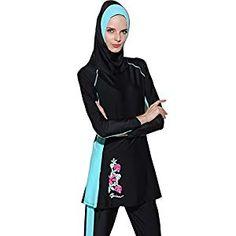 8ec1f018319b Muslim Swimwear Modest Lady's Full Cover Beachwear Islamic Swimsuit  Swimsuit Cover, One Piece Swimsuit,