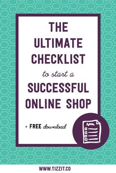 This checklist covers anything from business + strategy essentials to more practical aspects of actually launching your store. It includes all the key elements you need to have in place to launch and build a successful and profitable online shop. #onlinebusiness #followback #startup