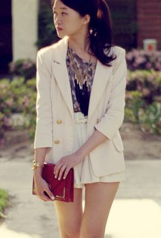 Arte Symphony: Blanco chaqueta ...