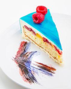 Mirror Glaze Tutorial on Cupcakes, Cupcake Cakes, Mirror Glaze Cake, Mirror Cakes, Funfetti Kuchen, Cake Recipes, Dessert Recipes, Frozen Cake, Gluten Free Chocolate