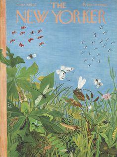The New Yorker - Saturday, June 9, 1962 - Issue # 1947 - Vol. 38 - N° 16 - Cover by : Ilonka Karasz