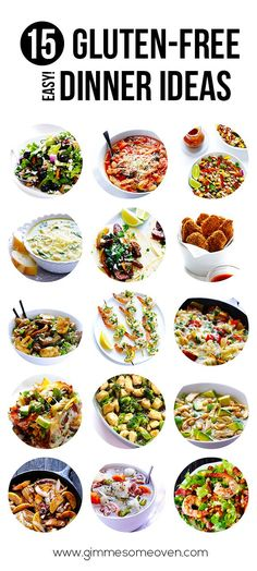 15 Gluten-Free (Easy!) Dinner Ideas - Gimme Some Oven