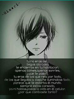 ❌ Sad Anime, Anime Love, Kawaii Anime, Manga Quotes, Let Me Love You, Kokoro, Some Quotes, Deep Thoughts, Romans